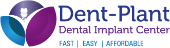 Dent-Plant Dental Implant Center practice logo