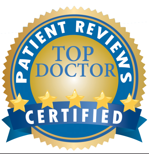 Top Doctor Award ribbon
